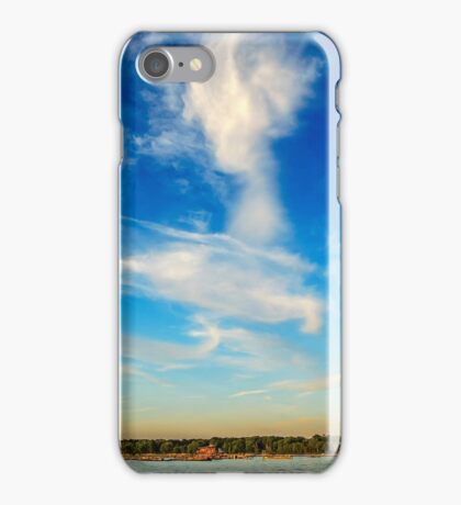 Angel in the sky ~ Landscape Horizontal iPhone Case/Skin