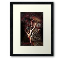 Shadows of a thousand years ... Framed Print