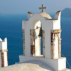 Churches - Oia, Island of Santorini, Greece by Aaron Minnick