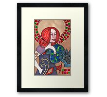 The Black Swan (Brigid) Framed Print