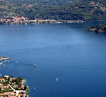Orta Lake from above by sstarlightss