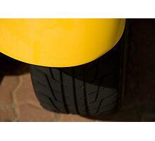 Yellow fender Photographic Print