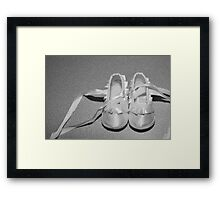 baby steps Framed Print