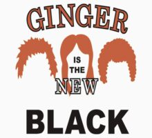Ginger is the new black Kids Tee