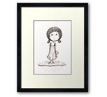 Dreaming Of A Silver Lining Framed Print