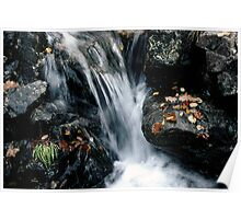 Waterfall off Illgill Head, Wastwater, English Lake District Poster