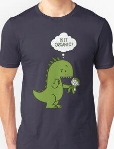 Organic Dinosaur Unisex T-Shirt