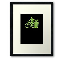 clean up.     Framed Print