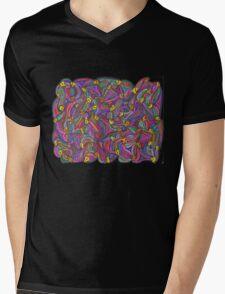 Chick Net Mens V-Neck T-Shirt