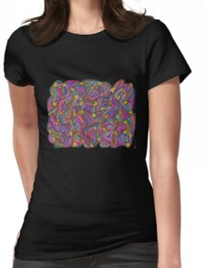 Chick Net Womens Fitted T-Shirt