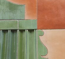 Green Terracotta Curves by ElyseFradkin