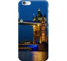 Tower Bridge during the blue hour, London iPhone Case/Skin