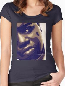 B.I.G. Women's Fitted Scoop T-Shirt