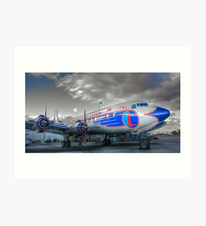 Eastern Airlines DC-7B Art Print