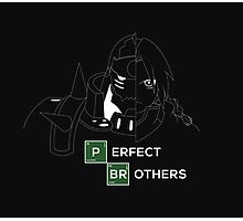 Fullmetal Alchemist Elrick Brothers Photographic Print