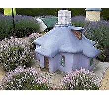 The lavender cottage Photographic Print