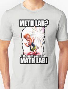 Math Lab not Meth Lab T-Shirt