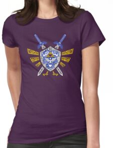 Heroes Legend - Zelda Womens Fitted T-Shirt
