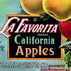 California Apples by Sandra Bauser Digital Art