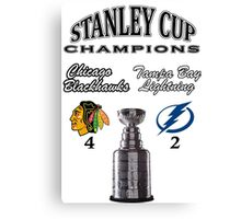 2015 Stanley Cup Champions Canvas Print