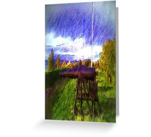 The Canon photo art Greeting Card