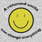 Return a smile by Matthew Walmsley-Sims