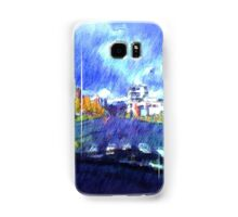The city from a car Samsung Galaxy Case/Skin