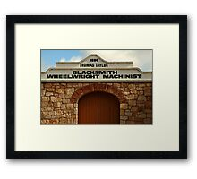 Elements of Terowie, South Australia Framed Print