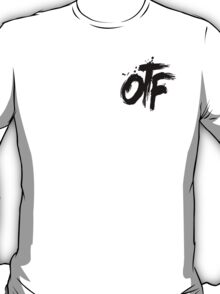 OTF Black on White (Small) T-Shirt