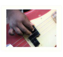 Bass Line Art Print