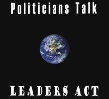 Politicians Talk by Les Boucher