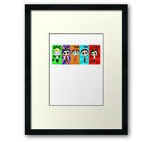 Chibi One Direction  Framed Print