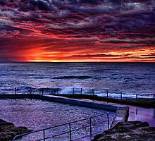 Curl Curl Sunrise by Dianne English