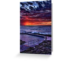 Curl Curl Sunrise Greeting Card