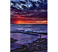 Curl Curl Sunrise Photographic Print