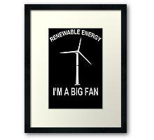 Big Fan Funny TShirt Epic T-shirt Humor Tees Cool Tee Framed Print