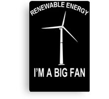 Big Fan Funny TShirt Epic T-shirt Humor Tees Cool Tee Canvas Print
