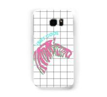 Cool zebra Samsung Galaxy Case/Skin