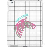 Cool zebra iPad Case/Skin