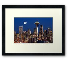 Sleepless in Seattle Framed Print