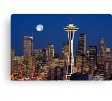 Sleepless in Seattle Canvas Print