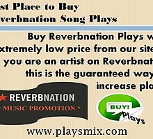 How to Increase Real ReverbNation Plays by playsmix