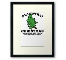 Big Tree Funny TShirt Epic T-shirt Humor Tees Cool Tee Framed Print