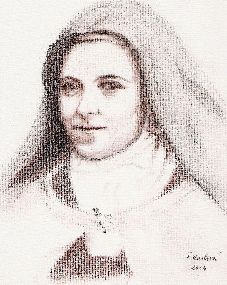 St. Theresa of Lisieux by stepanka