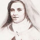 St. Theresa of Lisieux by stepanka