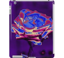 Blue and Purple Rose iPad Case/Skin