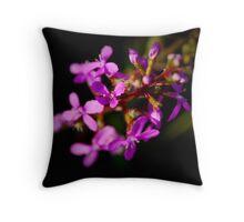 Bush flower Throw Pillow