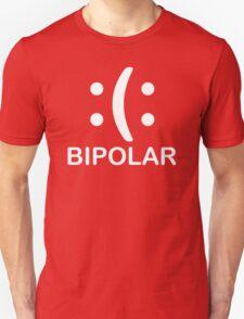 Bipolar  Emoticon Funny TShirt Epic T-shirt Humor Tees Cool Tee T-Shirt
