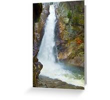 Waterfalls in New Hampshire Greeting Card