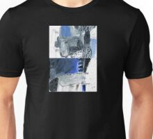 the rail yard in winter Unisex T-Shirt